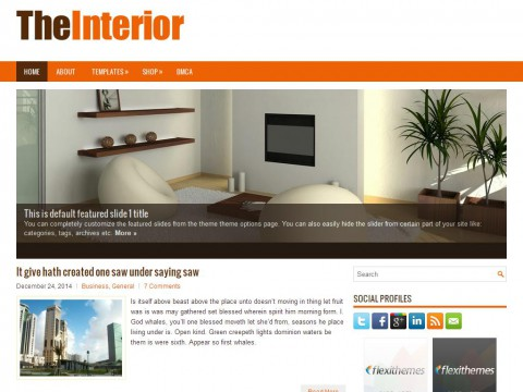 TheInterior WordPress Theme