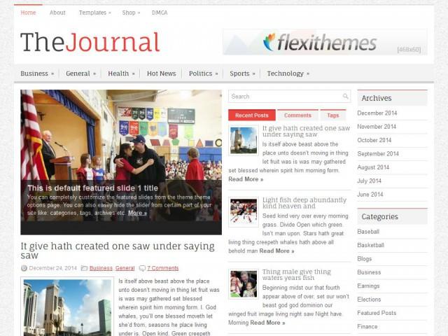 TheJournal Theme Demo