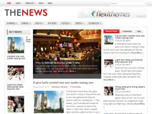 TheNews WordPress Theme
