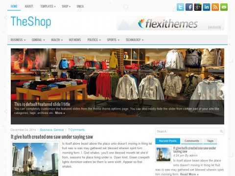 TheShop WordPress Theme