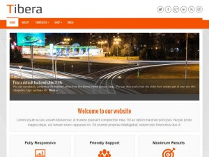 Tibera WordPress Theme