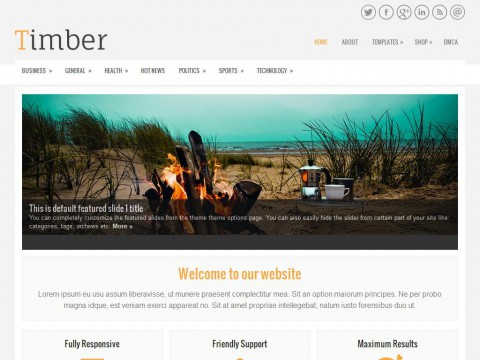 Timber WordPress Theme