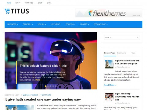 Titus WordPress Theme