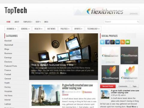TopTech WordPress Theme