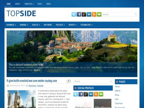 Topside WordPress Theme
