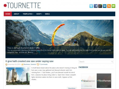 Tournette WordPress Theme