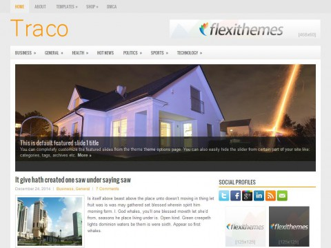Traco WordPress Theme