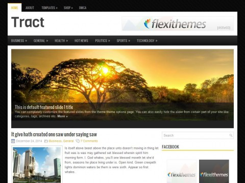 Tract WordPress Theme