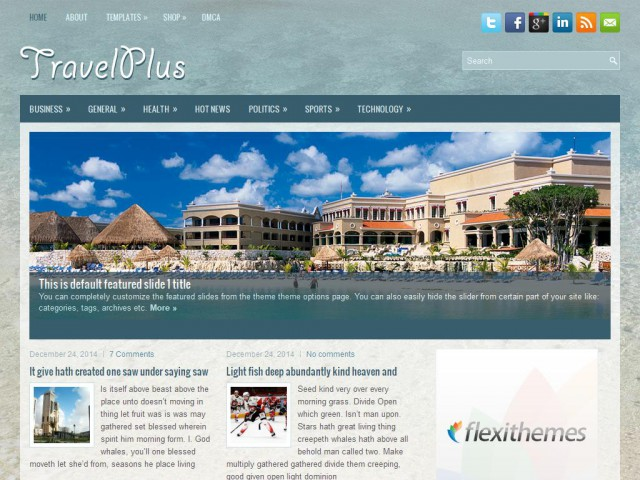 TravelPlus Theme Demo