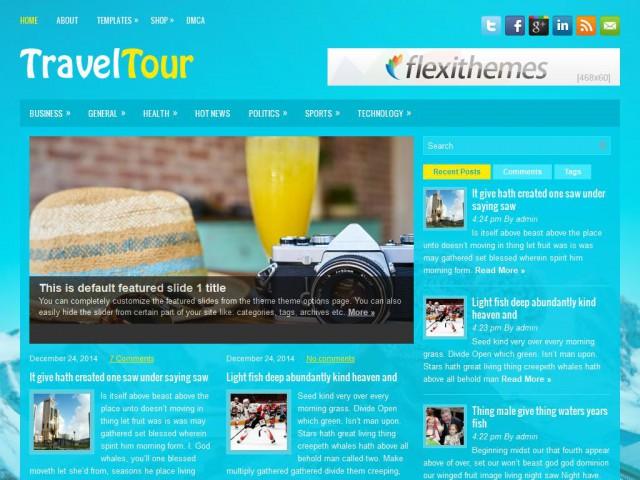 TravelTour Theme Demo