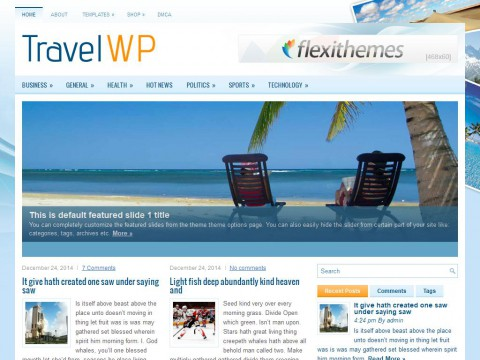 Permanent Link to TravelWP