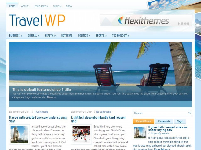 TravelWP Theme Demo