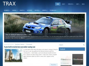 Trax WordPress Theme