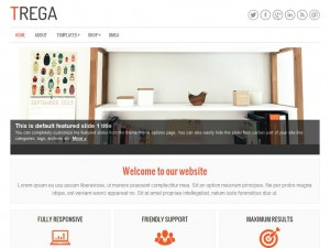Trega WordPress Theme