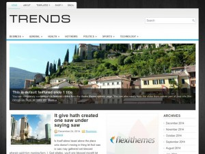 Trends WordPress Theme