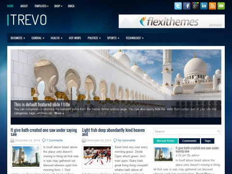 Trevo WordPress Theme
