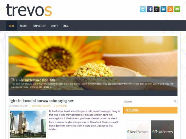 Trevos Theme Demo