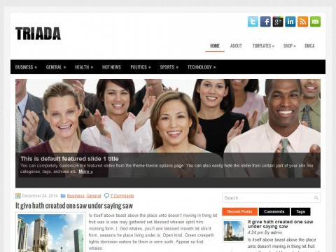 Triada WordPress Theme