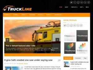 TruckLine WordPress Theme
