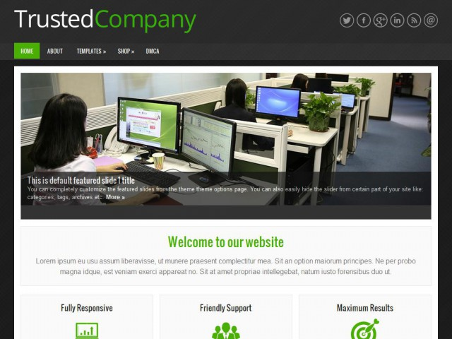 TrustedCompany Theme Demo