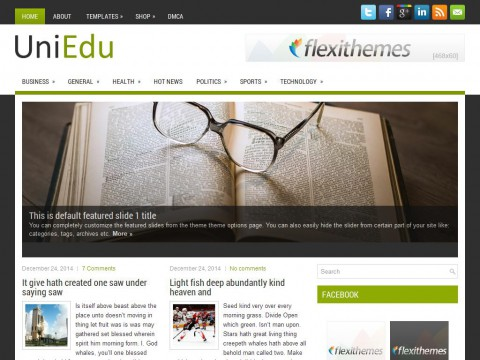 UniEdu WordPress Theme