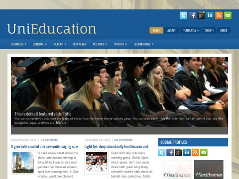 UniEducation WordPress Theme