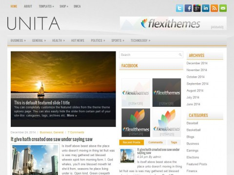 Unita WordPress Theme
