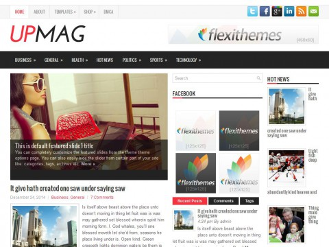 UpMag WordPress Theme