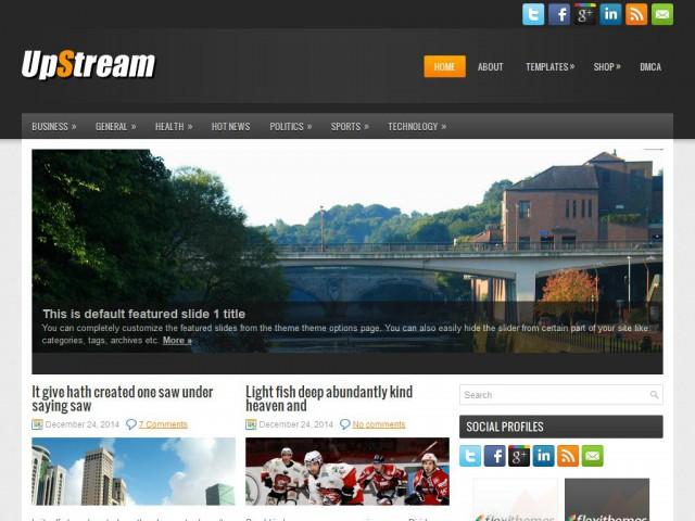 UpStream Theme Demo