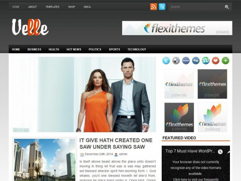Velle WordPress Theme