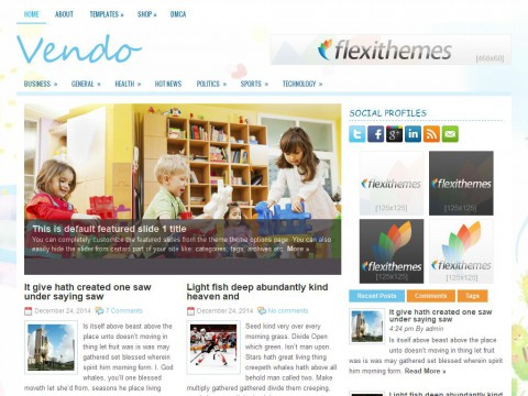 Vendo WordPress Theme