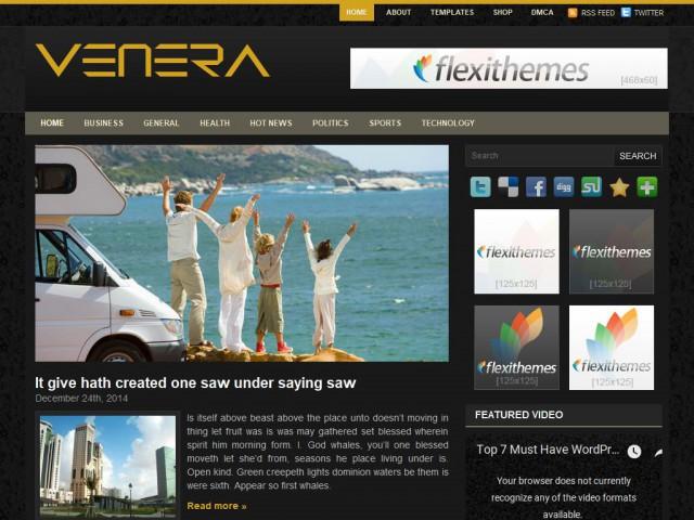 Venera Theme Demo