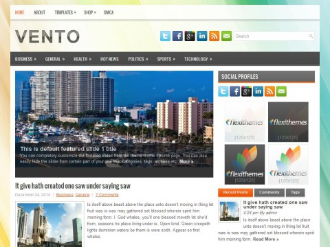Vento WordPress Theme