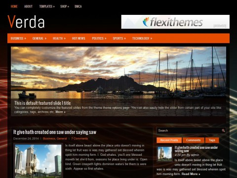 Verda WordPress Theme