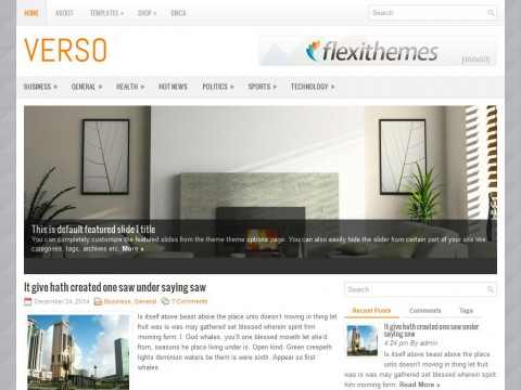 Verso WordPress Theme