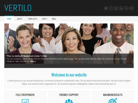 Vertilo WordPress Theme