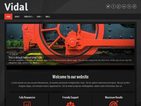 Vidal WordPress Theme