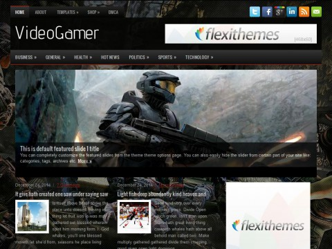 VideoGamer WordPress Theme