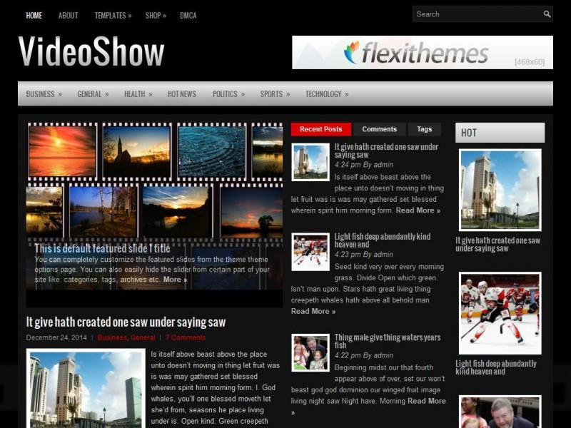 VideoShow - General/Blog WordPress Theme For 2019