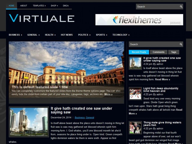 Virtuale Theme Demo