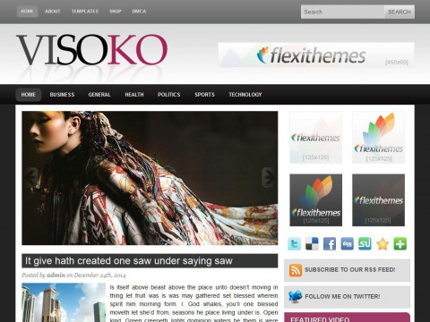 Visoko WordPress Theme
