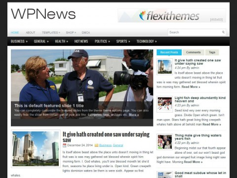 WPNews WordPress Theme