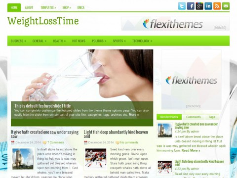 WeightLossTime WordPress Theme