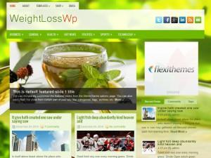 WeightLossWp WordPress Theme