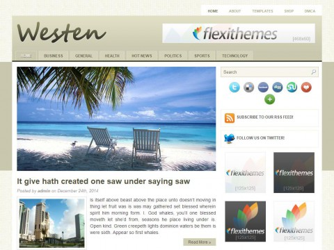 Westen WordPress Theme