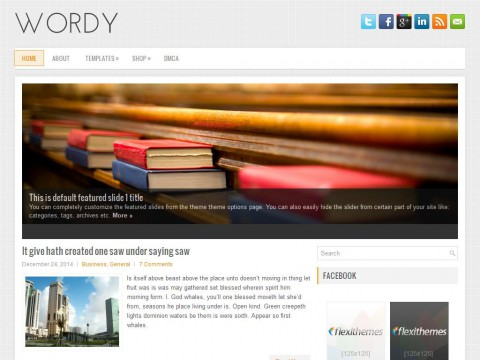 Wordy WordPress Theme