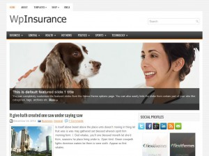 WpInsurance WordPress Theme
