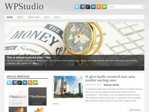 WpStudio WordPress Theme