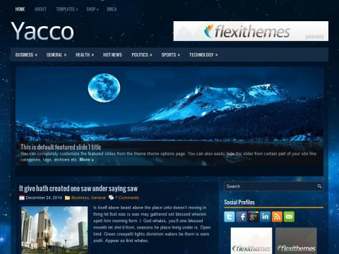 Yacco WordPress Theme