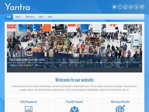 Yantra WordPress Theme